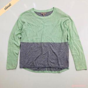 [Banana Republic] Color-Block Lightweight Sweater
